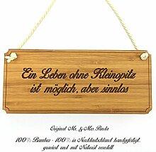 Mr. & Mrs. Panda Türschild Stadt Kleinopitz Classic Schild - Gravur,Graviert Türschild,Tür Schild,Schild, Fan, Fanartikel, Souvenir, Andenken, Fanclub, Stadt, Mitbringsel