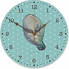 Mr. & Mrs. Panda Wanddeko, Uhr, 30 cm Wanduhr