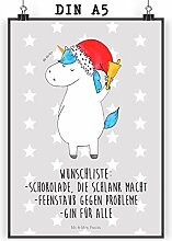 Mr. & Mrs. Panda Wandposter, Bild, Poster DIN A5