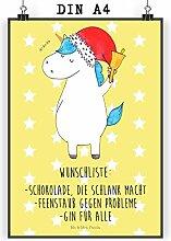Mr. & Mrs. Panda Wandposter, Wanddeko, Poster DIN