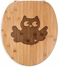 Mr. & Mrs. Panda WC Sitz Eule Breitflügel - Eule,