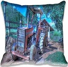 Mr. Rusty Pillow Case Sofa Waist Throw Cushion Cover Home D¨¦cor 18x18(2 Sides)