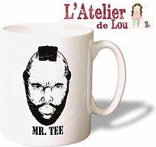 Mr. T Tee Keramik Kaffeetasse Mug Kaffeebecher - Lustige und Originelle Geschenkidee - Spülmaschinenfes