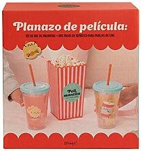Mr Wonderful Set aus Popcorn-Schüssel und