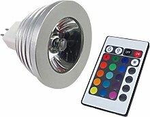 MR16RGB LED Glühbirne Multi Farbwechsel