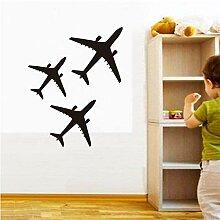 Mrhxly Nette Flugzeug Flugzeug Wandaufkleber