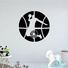 Mrhxly Basketball Wandkunst Aufkleber Wandkunst