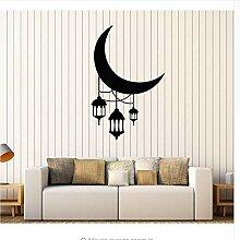 Mrhxly Crescent Moon Laterne Beleuchtung Arabisch