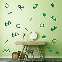 Mrhxly Diy Dreieck Kreisförmige Geometrie