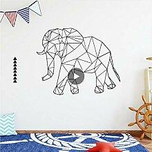 Mrhxly Diy Linex Elefant Hauptdekorationen Pvc