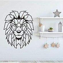Mrhxly Geometrische Design Tier Löwenkopf