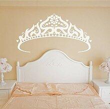 Mrhxly Große Krone Muster Wand Paste Aufkleber