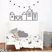 Mrhxly Haus Aufkleber Für Kindergarten Kinder