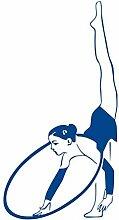 Mrhxly Hoop Gymnast Wandaufkleber Abnehmbare