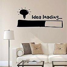 Mrhxly Idee Laden Wandaufkleber Wandkunst