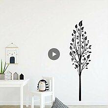 Mrhxly Künstlerische Baum Wandaufkleber