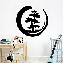 Mrhxly Mond Baum Muster Kreative Design Aufkleber