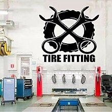 Mrhxly Vantage Reifenmontage Dekorative Aufkleber