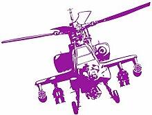 Mrhxly Vinylkleber Wohnkultur Militärhubschrauber