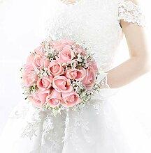 Mrinb Hübscher Brautstrauß, Hochzeitsstrauß mit