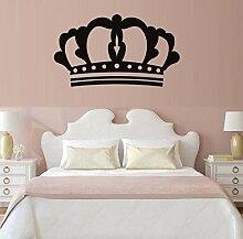 Mrlwy Prinzessin Crown Wandaufkleber