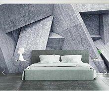 MRQXDP 3D Abstrakte Geometrische Tapete Wandbild