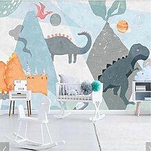 MRQXDP 3d karton dinosaurier tapete mural print