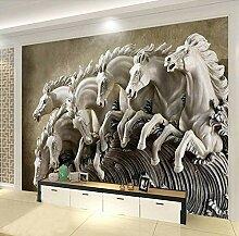 MRQXDP 3D-Wandtapete für Wohnzimmer, TV, Sofa,
