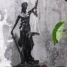 MRSA Gerechtigkeit Göttin Figur Griechische