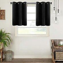 MRTREES Gardinen für kleine Fenster, 76,2 cm