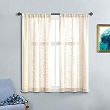 MRTREES Gardinen für Schlafzimmer, 137 cm Länge,