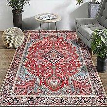 MRXUE Quadratischer Teppich, europäischer