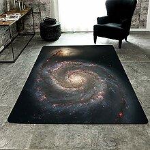 MRXUE Quadratischer Teppich, europäischer und