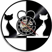 Mrzy Vintage Design Liebe Katzen Beleuchtet