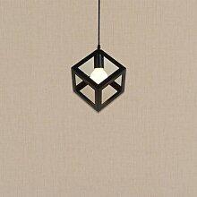 MSAJ-Nordische minimalistischen Kleidung speichern Cafe Lampe einzige drei Diamanten kreative Restaurant Beleuchtung Stirnlampen