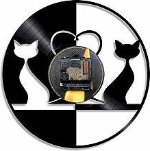 MSAMH 1 Stück Vintage Design Liebe Katzen
