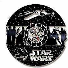MSAMH Schallplatte Wanduhr Modernes Design Uhr