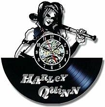 MSAMH Vinyl Record Wanduhr Modernes Design Harley