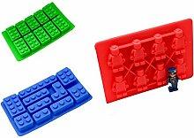 MSC Silikonform LegoStein Silicon Fondant