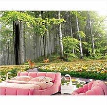 MSCLY 3D Fototapete Wandbild 3D Wohnzimmer
