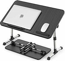Mspehm Laptop-Betttisch, tragbarer Computertisch,