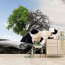 Msrahves Fernseher Heimkino Große Bäume Pandas