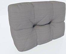 MSS Relax Paletten-Seitenkissen Stone