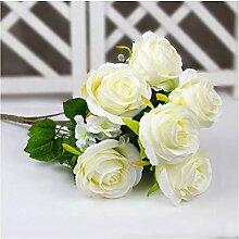 MSSZH Künstliche Blume 12 Rosen, Die