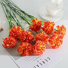 MSSZH Künstliche Blume Nelkenhaus Wohnzimmer
