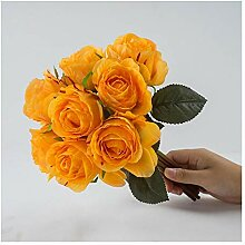 MSSZH Künstliche Blume Neunköpfiger Kleiner