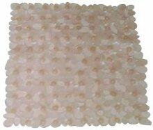 MSV 140180Galet Badteppich Acryl + Latex lachs