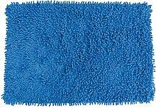 MSV 140515Teppich Baumwolle blau 80x 50x