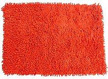 MSV 140516Teppich Baumwolle orange 80x 50x