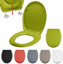 MSV, 140651 WC Sitz Toilettendeckel Duroplast mit